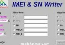 Download IMEI SN Writer Tool Latest Setup 2019 for Windows
