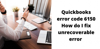 Quickbooks Error Code 6150