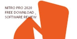 Nitro Pro 2020 Free Download and Software Review
