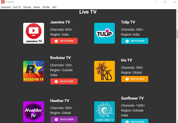 thop tv apk download for android